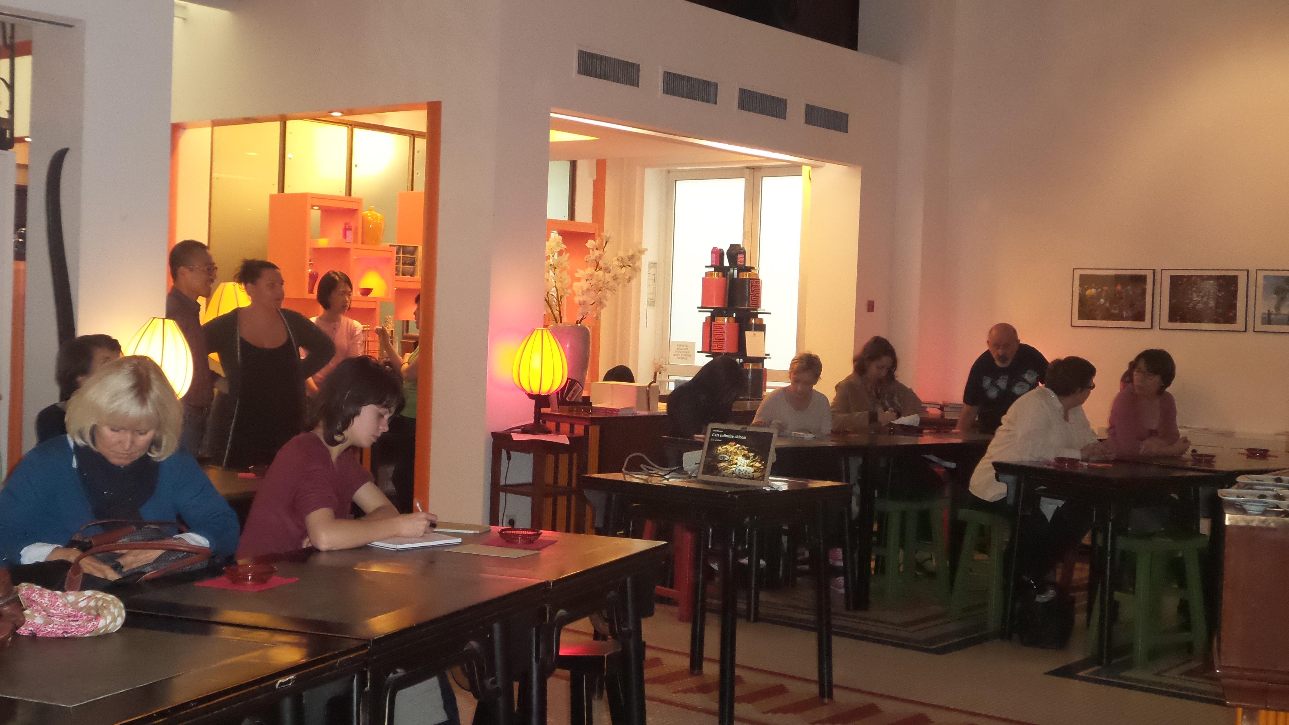 La conf rence sur l art du th la maison de la chine - Maison de la chine paris ...